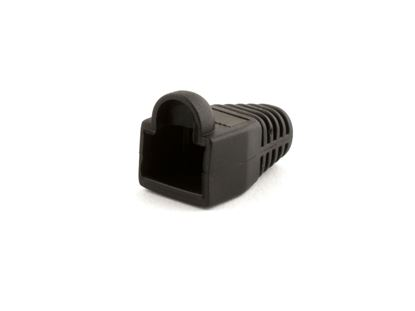 Picture of RJ45 Black Snagless Boot Protector - 100 Pack