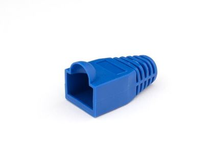 Picture of RJ45 Blue Snagless Boot Protector - 100 Pack