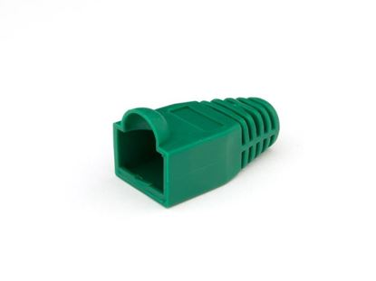 Picture of RJ45 Green Snagless Boot Protector - 100 Pack