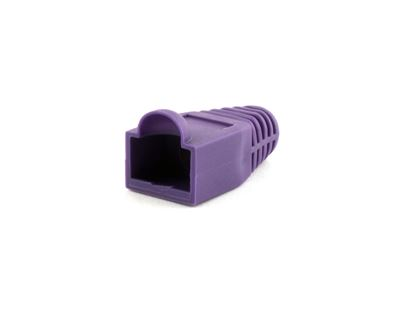 Picture of RJ45 Purple Snagless Boot Protector - 100 Pack