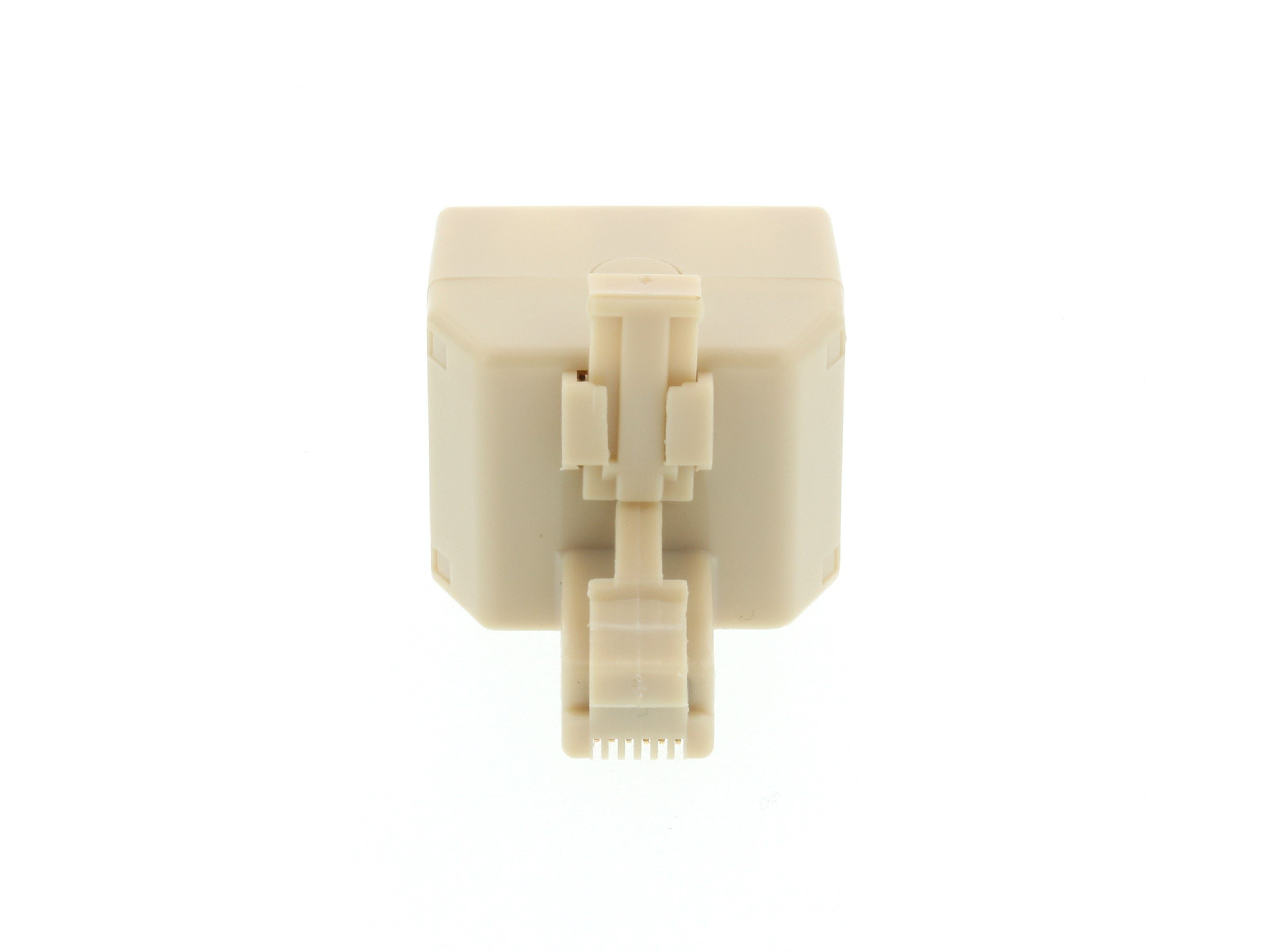 Networx - Modular Voice T Adapter - 1 Male to 2 Female (RJ11 - 6P6C ...