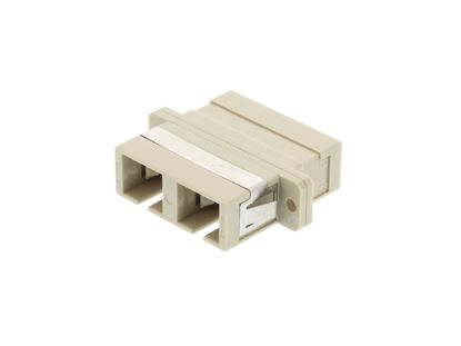Picture of SC Multimode Duplex Fiber Adapter - PC (Physical Connector)