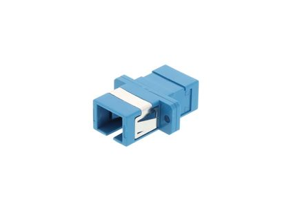 Picture of SC Singlemode Simplex Fiber Adapter - PC (Physical Connector)