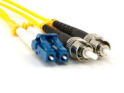 Picture of 10m Singlemode Duplex Fiber Optic Patch Cable (9/125) - LC to ST