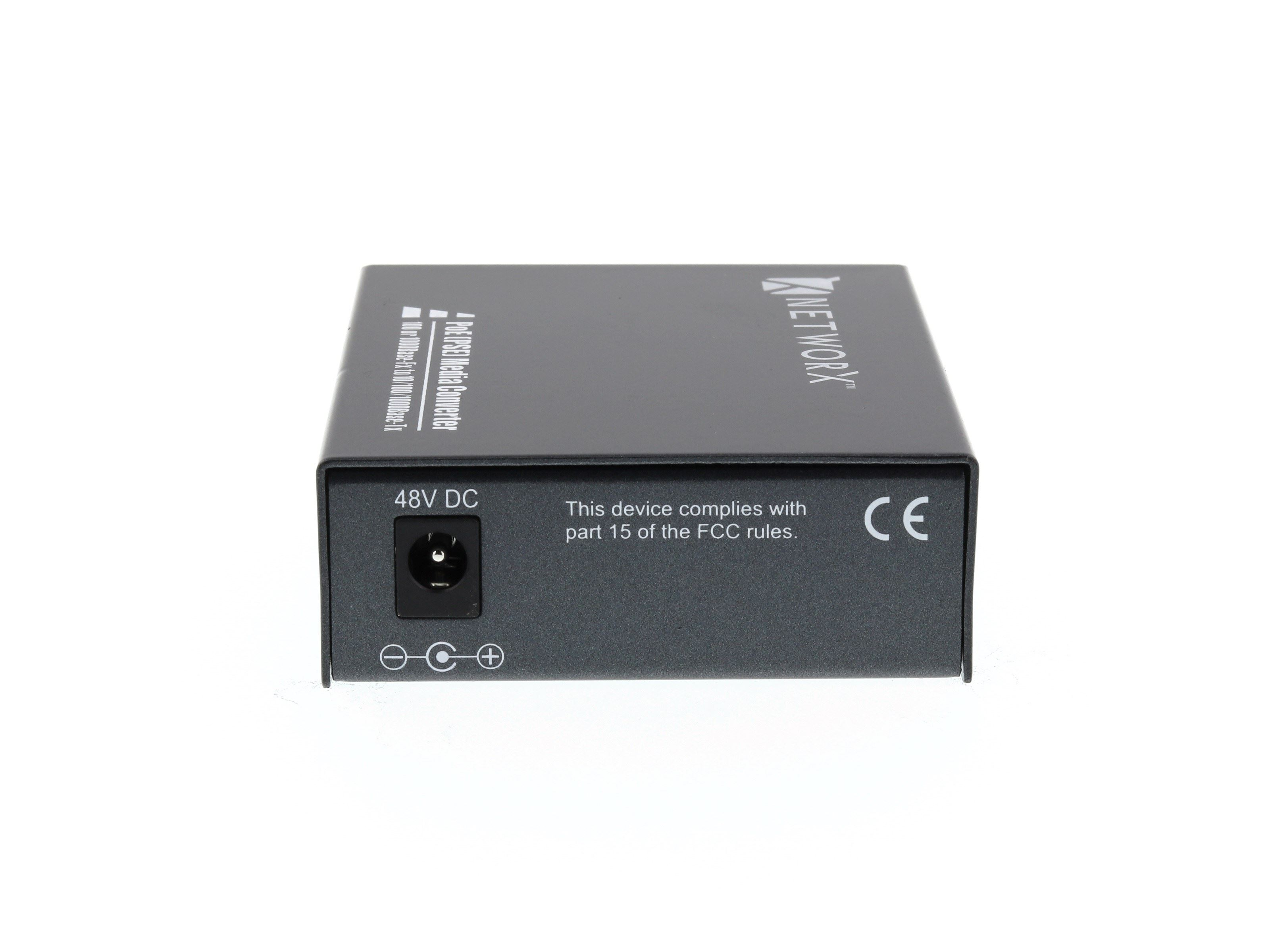 Networx Gigabit Fiber Media Converter 1000base Lx Lc
