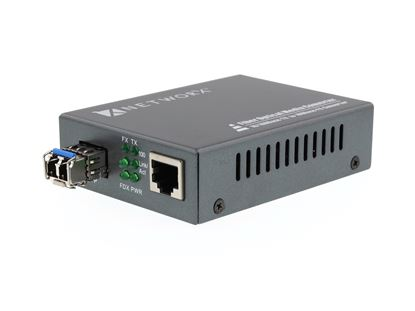 Picture of Fiber Media Converter - 100Base-SX, LC Multimode, 2km, 850nm