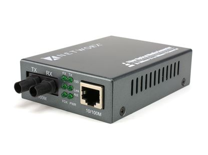 Picture of Fiber Media Converter - 100Base-FX, ST Multimode, 2km, 1310nm
