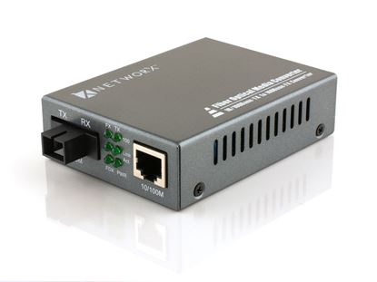 Picture of Fiber Media Converter - 100Base-BX, WDM SC, 30km, 1550T / 1310R