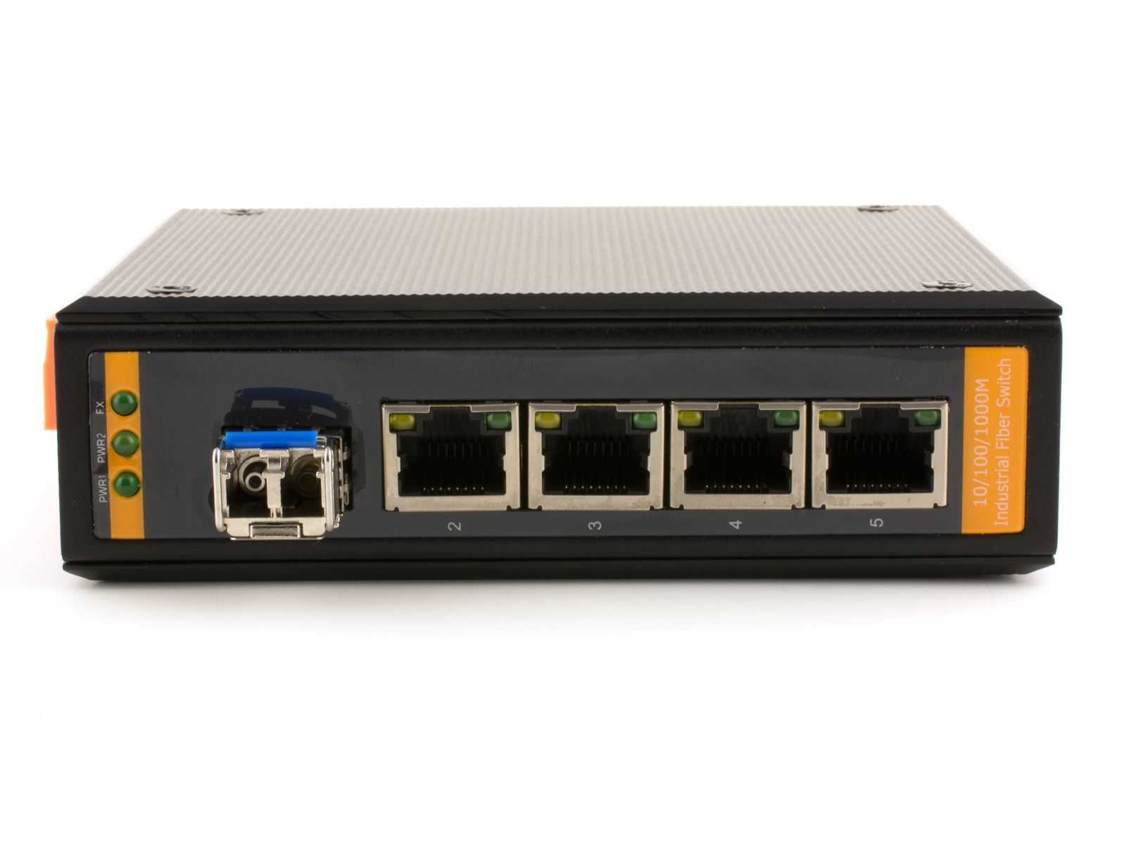 Networx Industrial Gigabit Fiber Media Converter