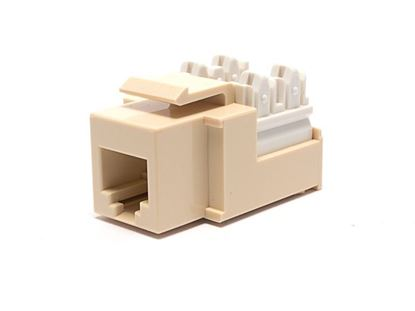 Picture of Voice Keystone Jack 90 Degree 110 UTP - Ivory