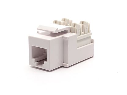 Picture of Voice Keystone Jack 90 Degree 110 UTP - White