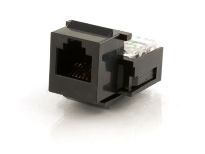 Picture of Voice Keystone Jack - IDC - Black