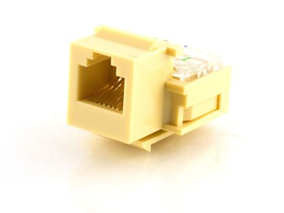 Picture of Voice Keystone Jack - IDC - Ivory