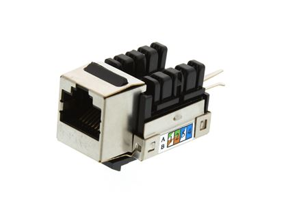 Picture of CAT6 Shielded Keystone Jack