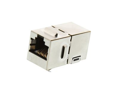 Picture of CAT6A Shielded Panel Mount Keystone Coupler