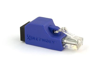 Picture of RJ45 Crossover Adapter