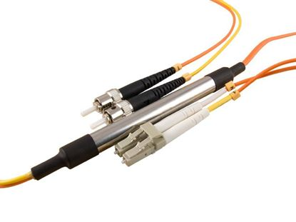 Picture of 2M Mode Conditioning Duplex Fiber Optic Patch Cable (50/125) - LC (equip.) to ST