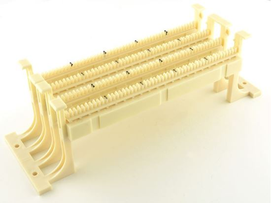 Picture Of 110 Wiring Block 100 Pairs With Legs And Accessories: 110 Wiring Block At Gundyle.co