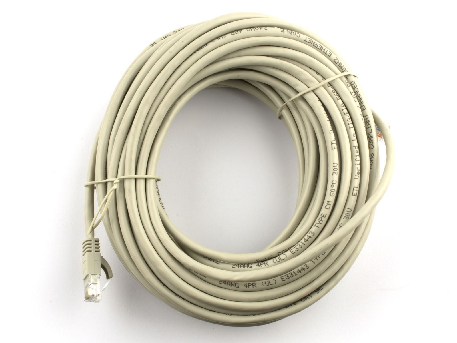 Networx 50 ft booted cat5e network patch cable gray booted picture of cat5e patch cable 50 ft gray booted publicscrutiny Image collections