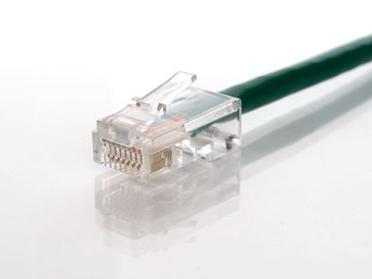 Picture of CAT5e Patch Cable - 14 FT, Green, Assembled