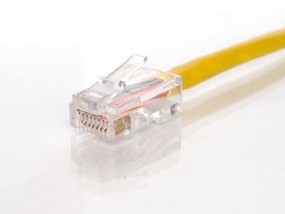 Picture of CAT5e Patch Cable - 14 FT, Yellow, Assembled