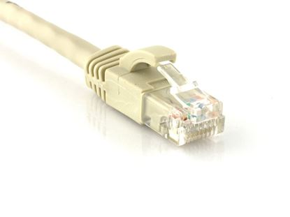 Picture of CAT6 Patch Cable - 1 FT, Gray, Booted