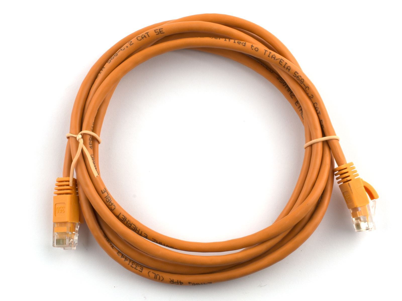 Networx 5 Ft Booted Cat6 Network Patch Cable Orange Rj45 To 550mhz Standards For Switch Router Modem Picture Of