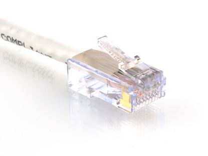 Picture of CAT6 Patch Cable - 1 FT, White, Assembled