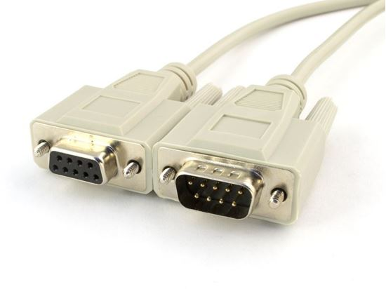 Picture of 15 FT Serial Extension Cable - DB9 M/F
