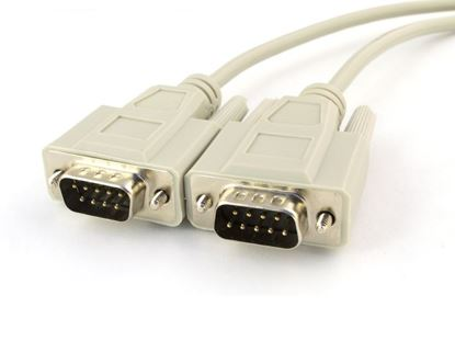 Picture of 6 FT Serial Cable - DB9 M/M