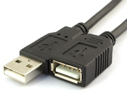 Picture of USB 2.0 Extension Cable A to A M/F - 6 FT