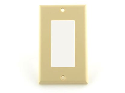 Picture of Single Gang Decorex Wall Plate - Ivory