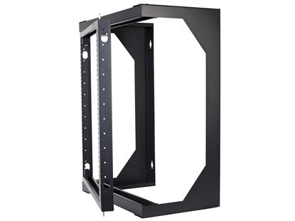 Picture of 22U Open Frame Swing Out Wall Mount Rack - 201 Series, 12 Inches Deep, Flat Packed