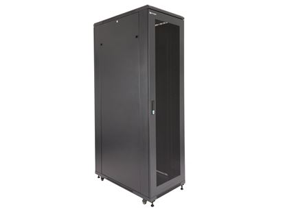 "Picture of Server Enclosure 42U 23""W x 39""D x 80""H, Vented Front Door, Removable Side Panels, Split Vented Rear Doors, Knockdown"