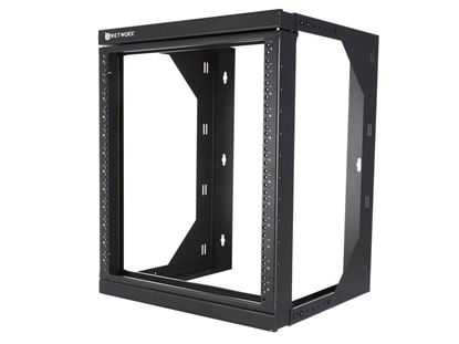 Picture of 22U Adjustable Depth Open Frame Swing Out Wall Mount Rack - 301 Series, Flat Packed