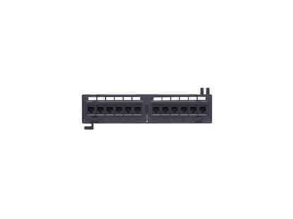 Picture of 12 Port CAT5e Wall Mount Patch Panel - 1U