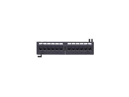 Picture of 12 Port CAT6 Wall Mount Patch Panel - 1U