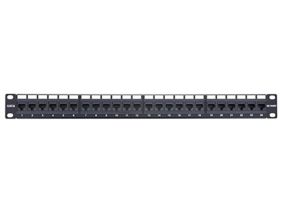 Picture of 24 Port CAT6 Rack Mount Patch Panel - 1U