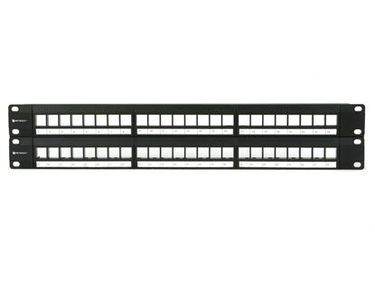 Picture of 2U High-Density Blank Patch Panel - 48 Port