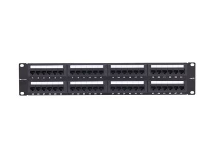 Picture of 48 Port CAT6 Rack Mount Patch Panel - 2U
