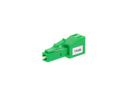 Fiber Optic Attenuator LC/APC 15dB