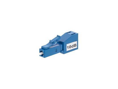 Fiber Optic Attenuator LC/UPC 10dB