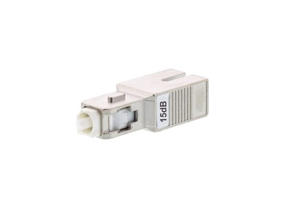 Fiber Optic Attenuator SC/APC 15dB